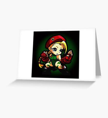 Puzzle Spirit: Cammy Greeting Card