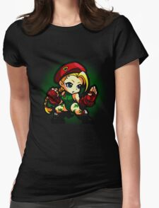Puzzle Spirit: Cammy Womens Fitted T-Shirt