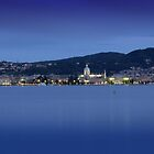 Blue Evening, Lake Como by Andreas Braun