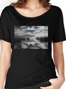Fisherman between two skies Women's Relaxed Fit T-Shirt