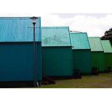 The Huts Photographic Print