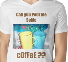Coffee?? Mens V-Neck T-Shirt
