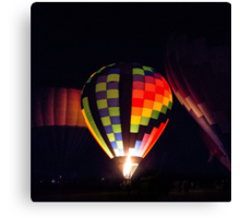 Glowing Balloon Canvas Print