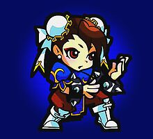 Puzzle Spirit: Chun-li by Legendarymutt