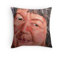 It's all in the Eyes - Fiona Throw Pillow