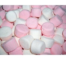Marshmallows  Photographic Print