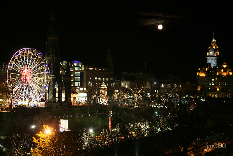 Edinburgh at Christmas and New year by ljm000