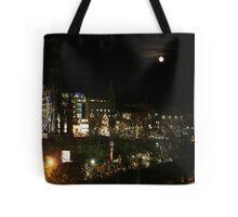 Edinburgh at Christmas and New year Tote Bag