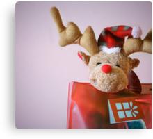 Christmas Reindeer Canvas Print