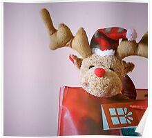 Christmas Reindeer Poster