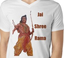Jai Shree Rama!! Mens V-Neck T-Shirt