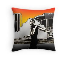 Seek and destroy Throw Pillow