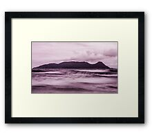 Waves Campeche Framed Print