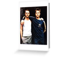Ed & Brad Greeting Card