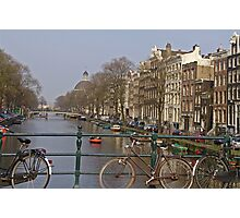 Bicycles Everywhere Photographic Print