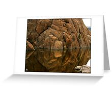 Reflections of Dells Monolith Greeting Card