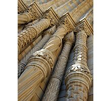 Natural History Museum London, stone columns/pillars Photographic Print