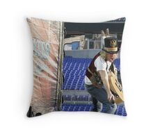 """Big Kenny"" of Big & Rich - 05/10/08 - Ravens Stadium - Baltimore, MD Throw Pillow"