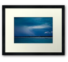 Blue Storm Framed Print
