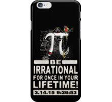 Irrational Pi Day Pirate iPhone Case/Skin