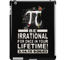 Irrational Pi Day Pirate iPad Case/Skin