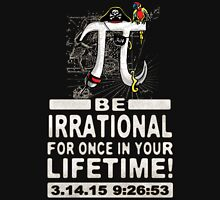 Irrational Pi Day Pirate Unisex T-Shirt