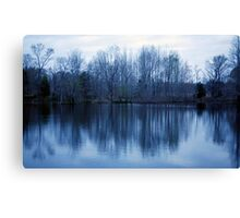Predawn Reflections Canvas Print