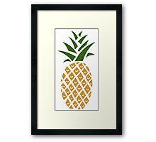 Pineapple (one) Framed Print