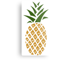 Pineapple (one) Metal Print