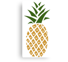 Pineapple (one) Canvas Print