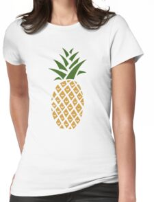 Pineapple (one) Womens Fitted T-Shirt