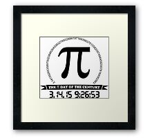 2015 Ultimate Pi day of the century Framed Print