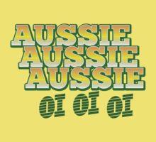 Aussie Aussie Aussie oi oi oi Kids Clothes