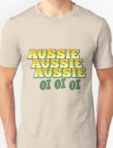 Aussie Aussie Aussie oi oi oi Unisex T-Shirt