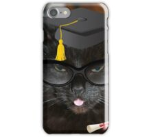 Jenny's Graduation - Not Funny !!!! iPhone Case/Skin