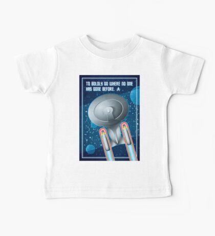 Star Trek - To Boldly Go Baby Tee