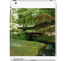 Japanese Garden - Maymont Park iPad Case/Skin