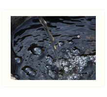 Bubbles.... Art Print