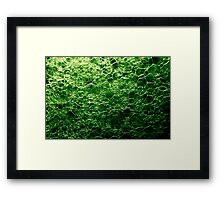 Abstract Macro #47 Framed Print