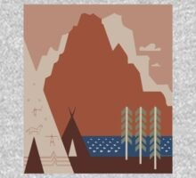 Travel Poster: Montana (Close-up) One Piece - Long Sleeve