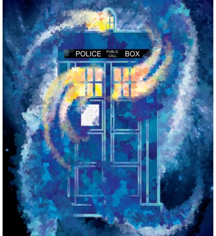 TARDIS Doctor Who Police Box Sticker