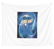 TARDIS Doctor Who Police Box Wall Tapestry