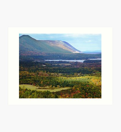 Sunrise Valley, Cape Breton Island Art Print