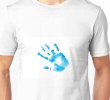 Watercolor hand print Unisex T-Shirt