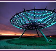 Halo Panopticon looking towards Pendle by Shaun Whiteman