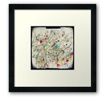 Pins and needles Framed Print