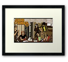 Good Times Framed Print