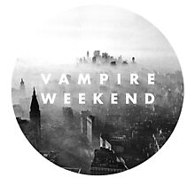 VAMPIRE WEEKEND  Photographic Print