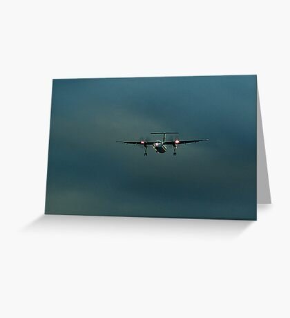 Sunset Flight Greeting Card