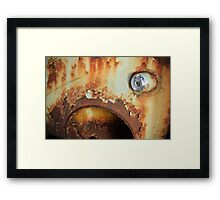 Flashless Framed Print